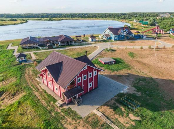 Загородный комплекс «Рыба-Пила» построен ООО «Гражданремстрой» под ключ.