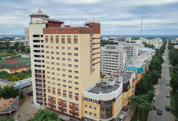 Здание общежития Кировского государственного медицинского университета